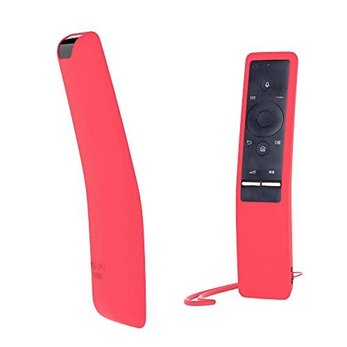SIKAI CASE Funda Protectora de Silicona Compatible con Samsung Smart TV Control Remoto de BN59-01241A BN59-01242A BN59-01260A Anti-Slip Cómoda Flexible y Resistente Protección - Rojo
