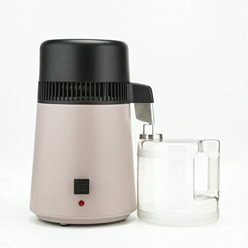 1,1 Gallon / 4 L Reines Wasser Distiller-Maschine Startseite Edelstahl Wasser Destilliertes Maker Mit Anschluss Flasche Filter Wasserreiniger Voll 750W Upgraded,110v