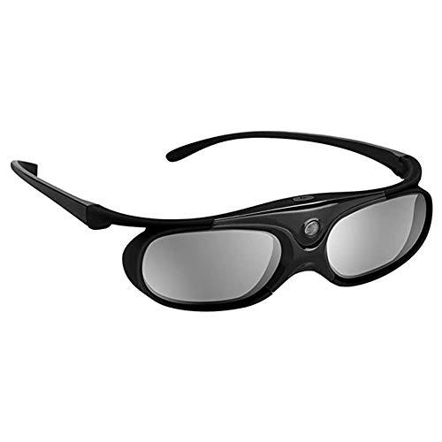 TYW Betrachtungs-3D Brille, 3D Active Shutter Brille DLP-LINK 3D-Brille für Xgimi Z4X / H1 / Z5 Optoma Sharp LG Acer H5360 Jmgo Benq W1070 Projektoren,C