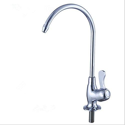 Keukenkraan 2 punten recht drinkwater kraan waterzuiveraar kraan
