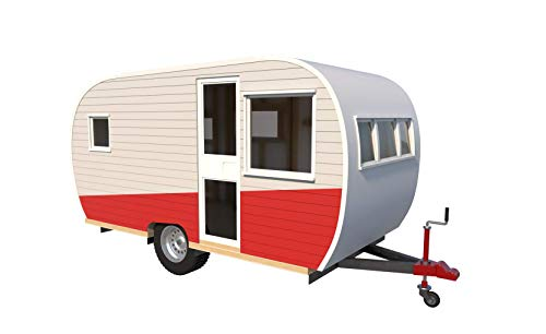 15' Teardrop Camper Trailer Plans DIY Tear Drop Camper RV Build Your Own New