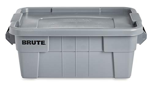 Rubbermaid Commercial Brute Tote Storage Bin with Lid 4