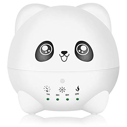 300ml Mini Panda Humidificador De Aire De Difusor Aroma Eléctrico Silencioso Generador...