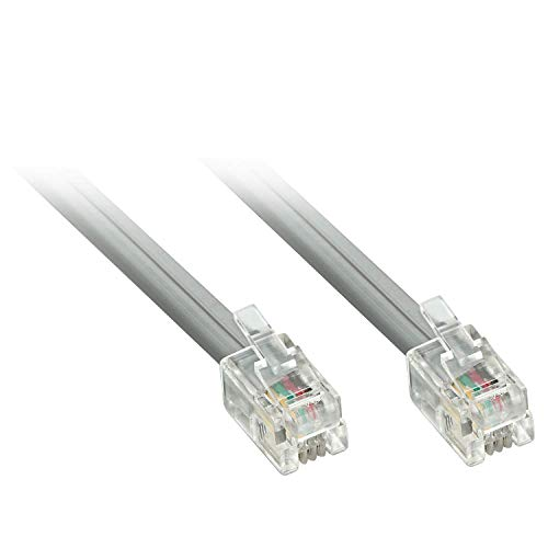 LINDY RJ-10 4/4 Kabel Stecker/Stecker 10m