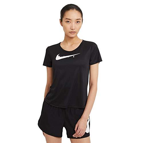 Nike Swoosh Run T-Shirt Black/Reflective Silv M