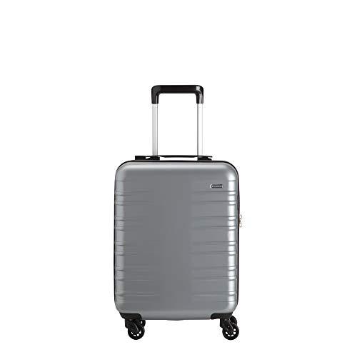 Carpisa FEATHER - Maleta con ruedas (4 ruedas), plateado (Plateado) - VA55700SC0004001