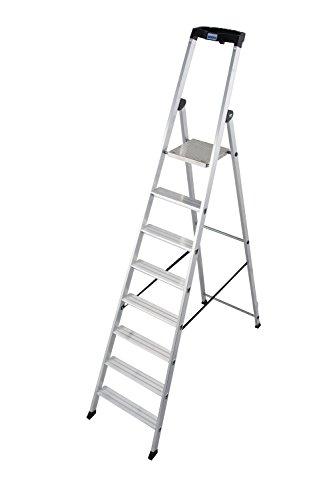 KRAUSE Stehleiter Solido, 7-8 Stufen, 126672