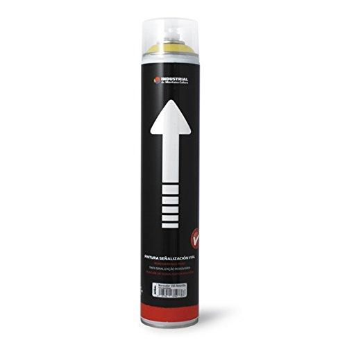 Montana Colors Spray Señalización Vial Amarillo 750ml, Amarillo, 750 ml