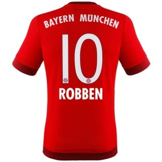 adidas Jersey FC Bayern Munich 2015-2016 Home - Robben [Youth 140]