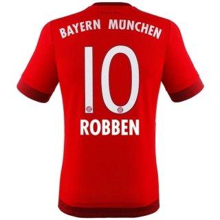 Jersey Adidas FC Bayern Munich 2015-2016 Home - Arjen Robben [Youth 140]
