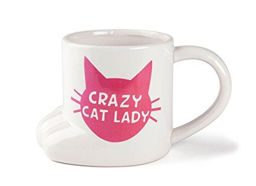 BigMouth Inc Crazy Cat Lady - Taza de café, diseño de gato
