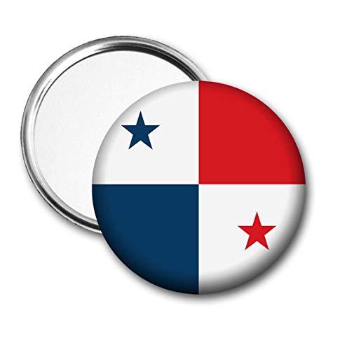 Panama Vlag Pocket Spiegel voor Handtas - Handtas - Cadeau - Verjaardag - Kerstmis - Stocking Filler - Secret Santa