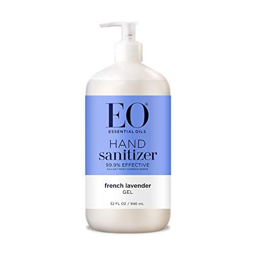 EO Hand Sanitizer Gel: French Lavender, 32 Ounce
