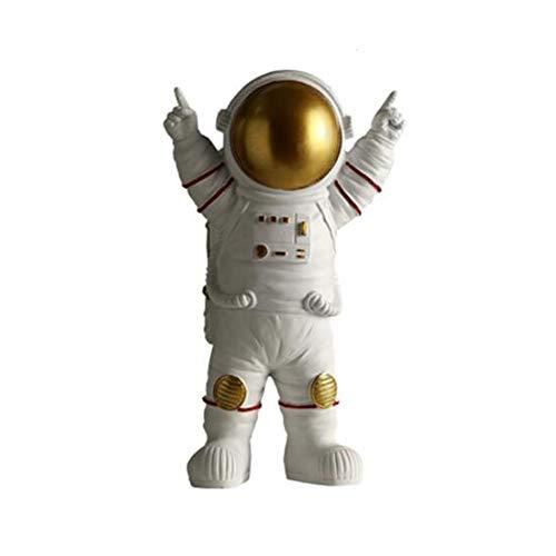 Astronaut Statues Sculpture Figurine Ornament Home Arts and Crafts Desktop...