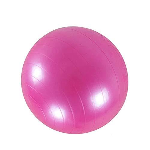 PVC Fitness Ball Bola de Yoga Gruesa, explosión a Prueba de Ejercicios Inicio Gimnasio Pila Tis Equipo Equipo Bola de Balance 45 cm / 55 cm / 65 cm / 75 cm / 85 cm,Rosado,85CM