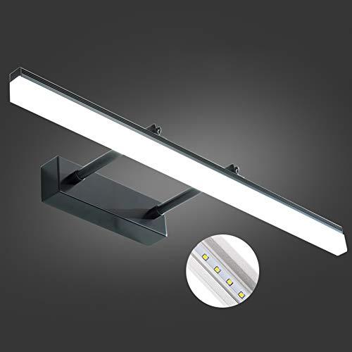 ELEYHO Vanity Light Led-badkamerverlichting boven de spiegel met inschuifbare en draaibare lichtarmen voor badkamertafel