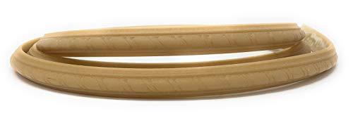FLEXTRIM- 1 | 2 X 3 | 4 FLEXIBLE RIBBON ROPE PANEL - 94 INCHES LONG FLEXIBLE MOLDING (1811ROP)