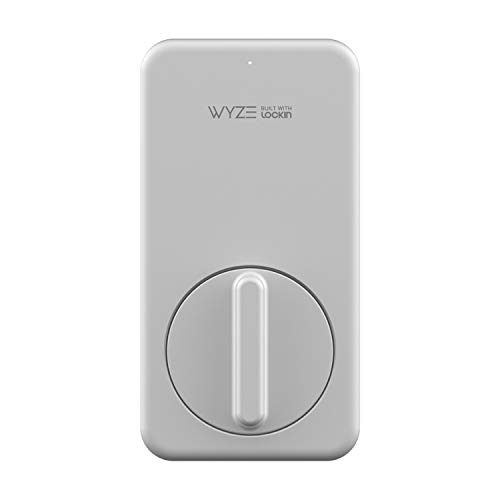 Wyze Lock WLCKG1 WiFi and Bluetooth Enabled Smart Lock, Keyless Door Entry, Fits on Most Deadbolts, Includes Wyze Gateway (hub)