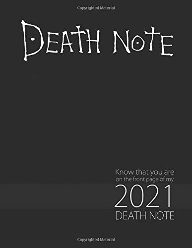 Death Note: Monthly Colorful Anime Calendar, Pictures, Quotes