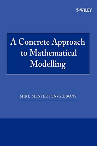 Mathematical Modelling P (Wiley-interscience Paperback Series)