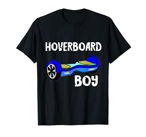 Hoverboard Boy Hover Patinador eléctrico de equilibrio de la vespa Camiseta