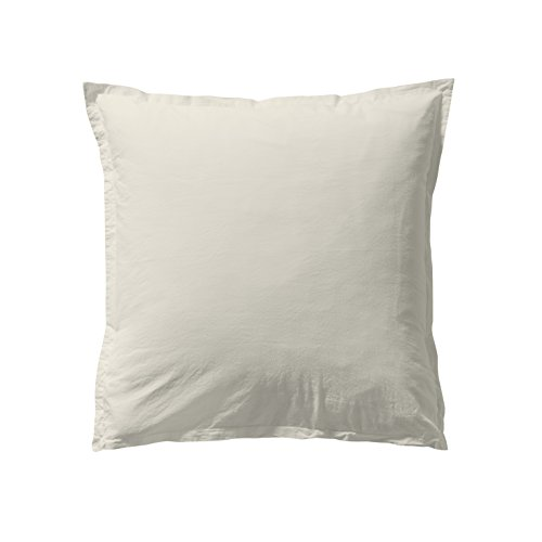 ESSIX Taie d'oreiller, Coton, Craie, 50x70 cm