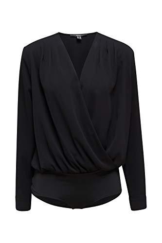 ESPRIT Collection 030EO1F315 Bluse Damen, Schwarz (001/BLACK), 38