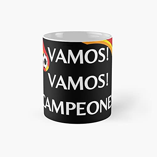 Vamos Campeones Classic Mug - 11 Ounce For Coffee, Tea, Chocolate Or Latte.