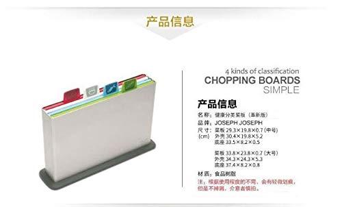 JosephJoseph(ジョセフジョセフ)まな板セットインデックス付まな板アドバンス2.0レギュラーホワイト60138
