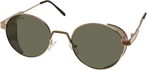 Urban Classics Sunglasses Sicilia Gafas, Oro Antiguo/Marrón, Talla única Unisex Adulto