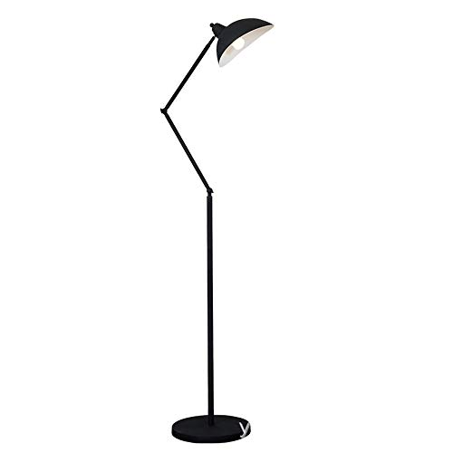 Lámpara de pie LED Dimmable, lámpara de pie continuamente regulable, luz de lectura, 3 temperaturas de color, con control remoto,