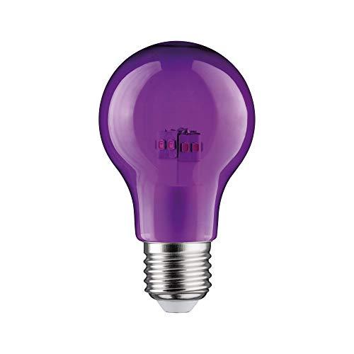 Paulmann 284.52 LED AGL 1W E27 230V Violett 28452 Allgebrauchslampe Leuchtmittel Glühlampe Lampe