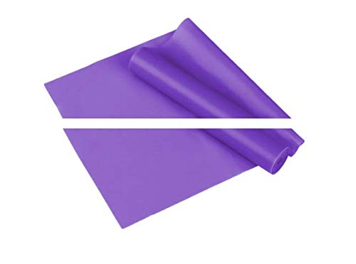Non-Slip Thick Exercise Yoga Mat High Density Mat with Carrying Straps Pilates and Home Gym Workout for Men & Women (Purple, 1500mm 150mm 0.35mm)