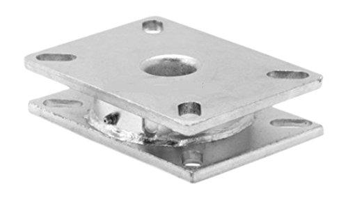 """Albion tt110000Contender Turntable, Industrial 1/4"""" espesor montaje de placas, 3/8"""" Rodamientos de bolas, 4"""" X 4–1/placa superior de 2"""", Capacidad de 1400Lb."""