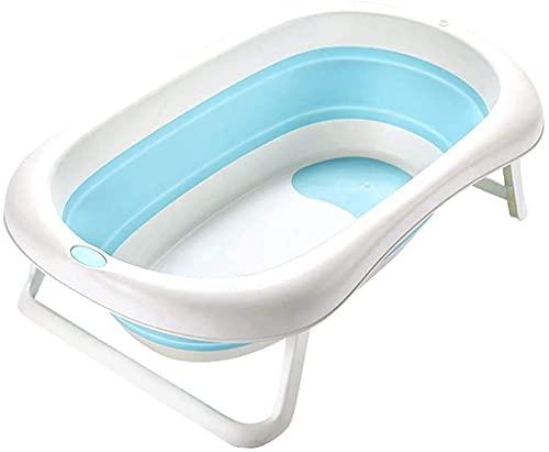 VIVOCC Bañera de bebé, Lavabo para niños pequeños Bañera de baño para bebés portátil Bañera para bebé para Viajar Azul Rosa 85x50x23cm (Color : C, tamaño : C)