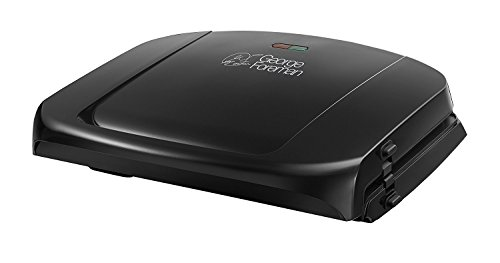 George Foreman 5-Portion Family Grill with Removable Plates 20840 - Black