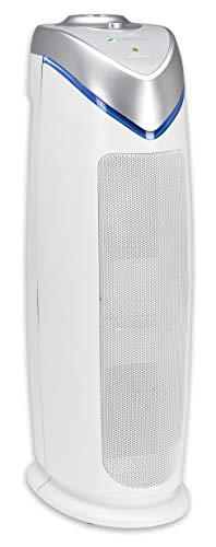 Germ Guardian HEPA Filter Air Purifier with UV Light Sanitizer, Eliminates Germs, Filters Allergies, Pollen, Smoke, Dust, Pet Dander, Mold, Odors, Quiet 22in 4-in-1 Air Purifier for Home AC4825W