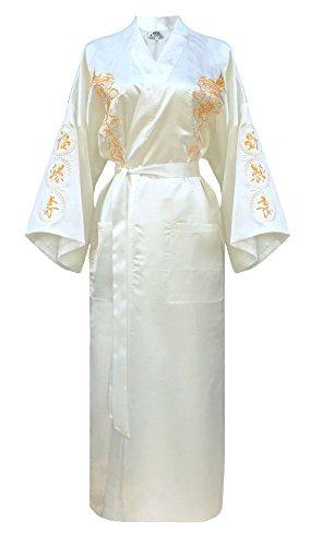 Dames ochtendjas Chinese Japanse kimono meerdere kleuren om uit te kiezen