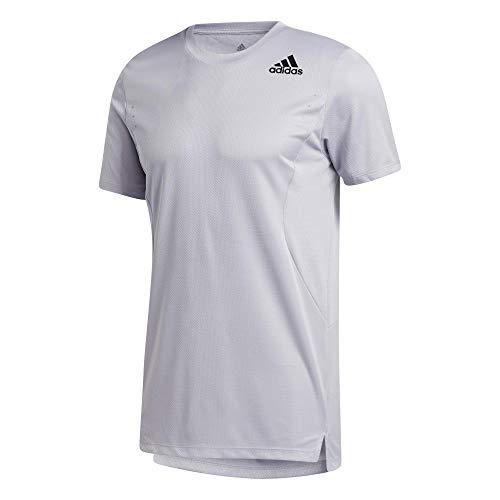 adidas Męski T-shirt Heat.Rdy Training T-Shirt, Glory Grey, 2XL, GL7295