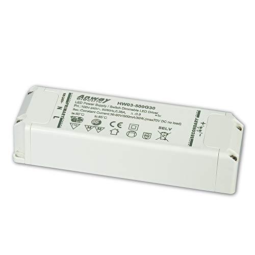 Anway LED Treiber HW03-500G30 30W/500mA/36-60V
