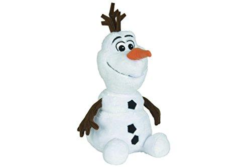 Simba 6315873411 - Disney Frozen Plüsch Olaf sitzend 45 cm