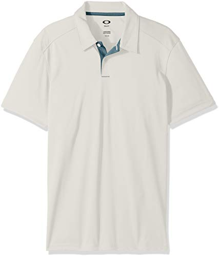 Oakley Men's Divisonal Shirts,Large,Arctic White
