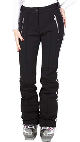 Sportalm Softshell Skihose Größe 40 EU Schwarz (Black)
