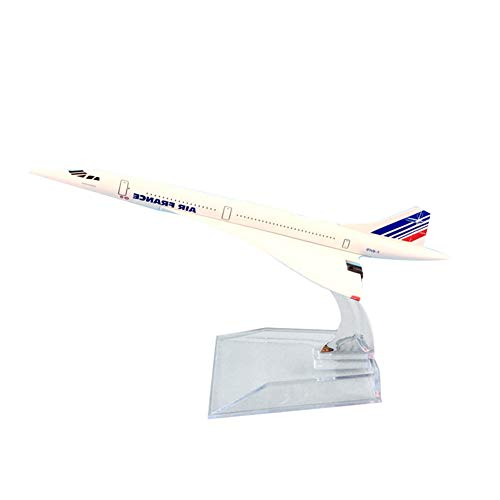 ManFull Miniature Doll House Ornament,1/400 16cm Diecast Air France Concorde Plane...