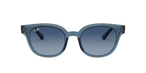 Ray-Ban RB4324 Gafas, AZUL TRANSPARENTE, 50 Unisex Adulto