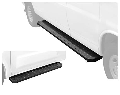 "Tyger Auto Van Running Boards for 2012-2019 Nissan NV 1500/2500/3500 Cargo Van (Driver side 53"" long & Passenger side 96"" long)"