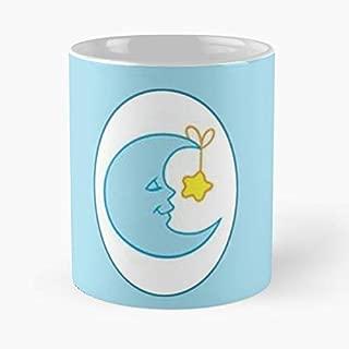 Bedtime Bear Care Bears Original Symbol - Best Gift Coffee Mugs 11 Oz Father Day