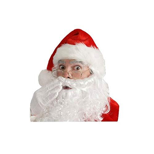 Dent Wiederverwendbare Weihnachtsmann Auto Aufkleber Weihnachten Neuheit Abziehbilder Festival Kreativ Für Seitenscheibe, Heckscheibe, Frontscheibe, Autotürverkleidungen