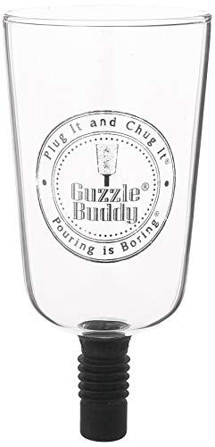 Guzzle Buddy Ultimatives Bierglas, praktisches Geschenk, sei das Leben der Party, All-in-One, transparent