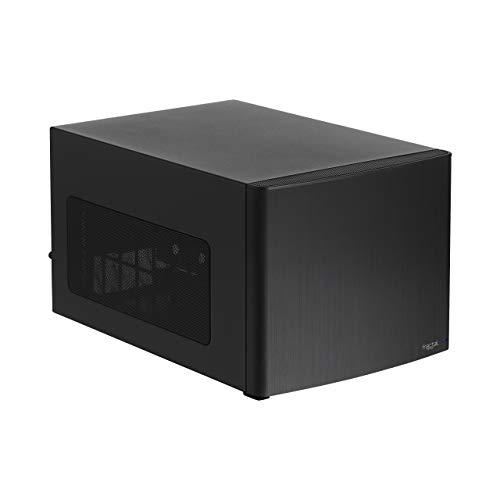 Fractal Design Node 304 - Black - Mini Cube Compact Computer Case - Small Form Factor - Mini ITX – mITX - High Airflow - Modular Interior - 3X Silent R2 120mm Fans Included - USB 3.0